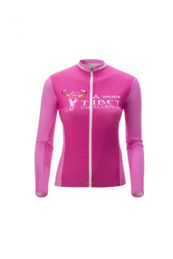 WO MAHATMA CYCLING JACKET 女款抓绒长袖夹克