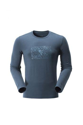 ME ARAL PRINT LS T-SHIRT男款长袖 T 恤