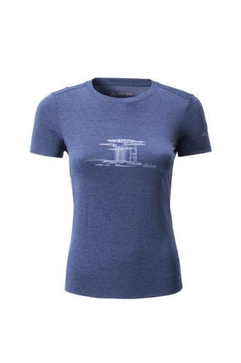 WO DURI RE PRINT SHIRT IV  女款短袖 T 恤