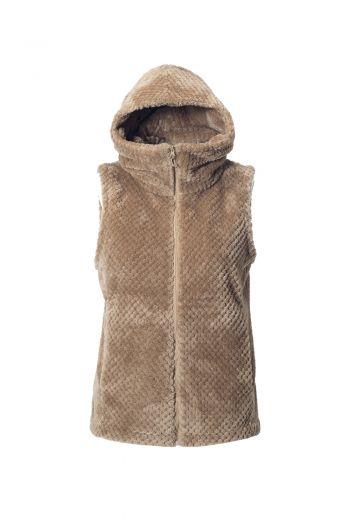 WO AEGEAN VEST  女款珊瑚绒背心夹克