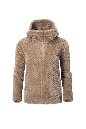 WO AEGEAN JACKET 女款珊瑚绒保暖夹克