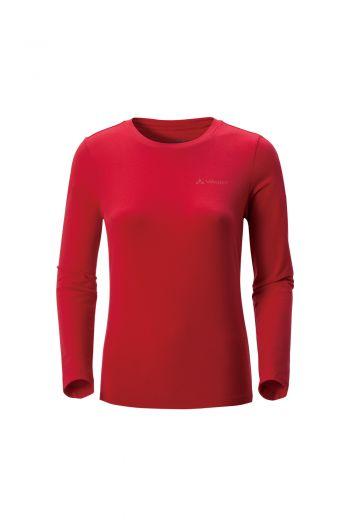 WO ARAL LS T-SHIRT II  女款棉感长袖 LOGO T 恤