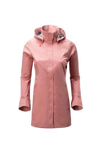 WO RUEDESHEIM 2.5L JACKET 女中长款 2.5 层防水风衣