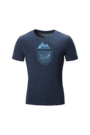 ME MALONE T-SHIRT 男款短袖图案棉 T 恤