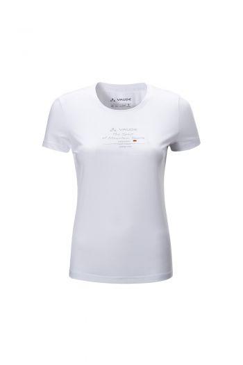 WO ALTER T-SHIRT Ⅺ 女款圆领图案短袖棉 T 恤