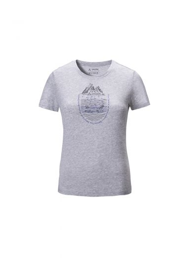 WO MALONE T-SHIRT 女款短袖图案棉T恤