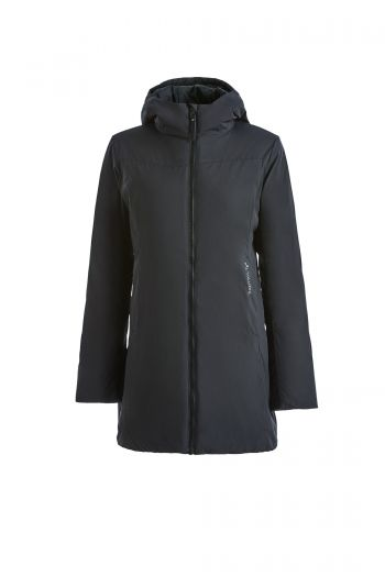 WO LATVIJAS PADDED JACKET 女款 3M-EP 棉中长款保暖外套
